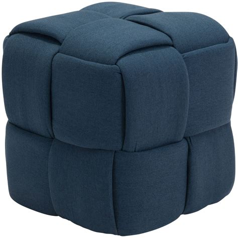 Navy Background Check Checks Navy Blue Stool From Zuo Coleman Furniture