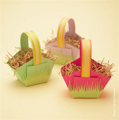 Easter Basket Craft by Laugh Make Nurture Organise Play 187 Blog Archive 187 Paper