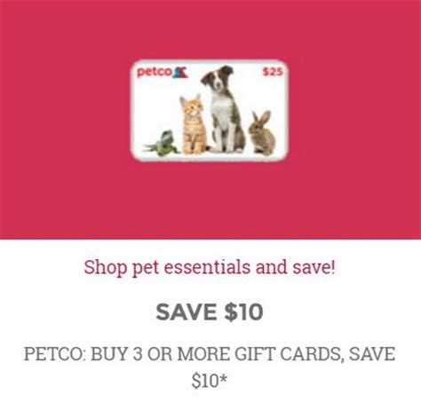 Frys Gift Cards - frys 25 merry days today petco gift cards pennywisepaws