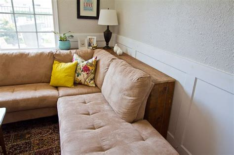 table behind the couch diy behind the sofa table diy ideas pinterest