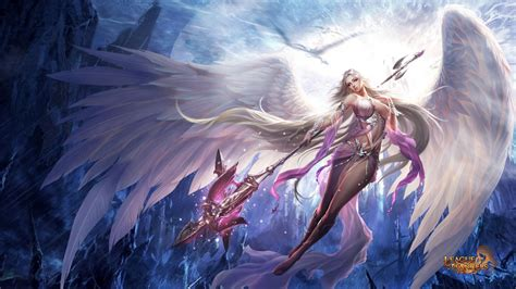 Angels Free Giveaways - league of angels wallpapers