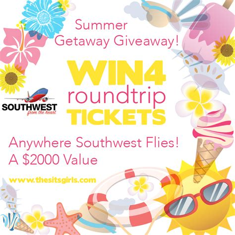 Southwest Giveaway - southwest summer getaway giveaway the sits girls