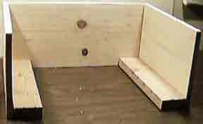 how to build an ottoman frame how to build and upholster an ottoman how to install jute