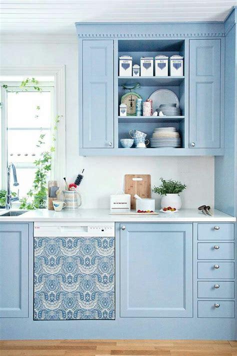sky blue kitchen design ideas interiorholiccom