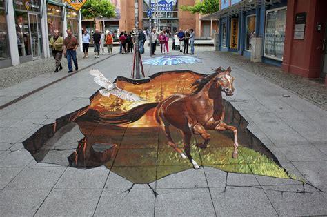imagenes extraordinarias en 3d pinturas 3d en las calles tan reales que pueden tocarse