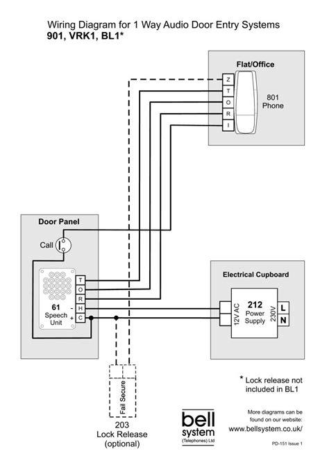 nutone doorbell intercom wiring diagram