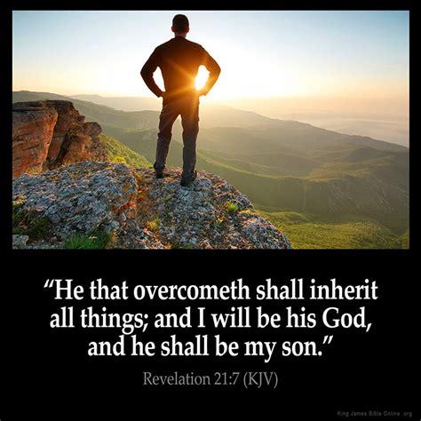 Bible V 4 revelation 21 7 inspirational image