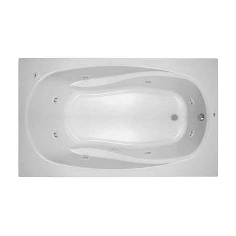 Proflo Bathtubs by Proflo Pfwplusa7242bs Biscuit 72 X 42 Drop In 8 Jet
