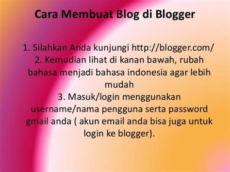 membuat gmail ppt cara membuat blog ppt