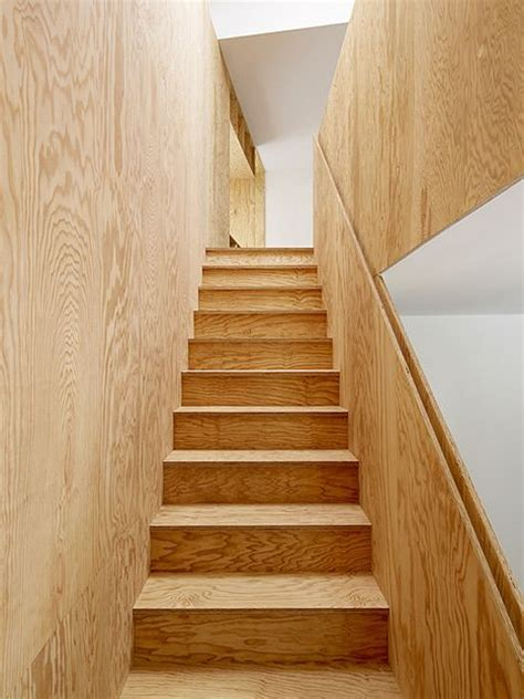 Plywood Stairs Design 25 Best Ideas About Stair Walls On Stairwell Decorating Decorating Large Walls And