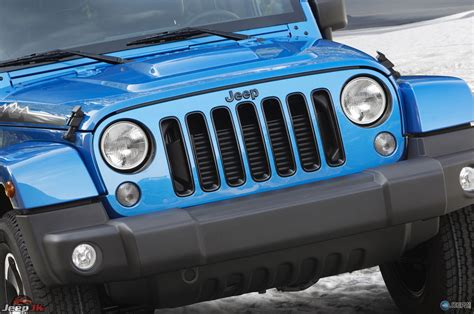 jeep front grill wrangler polar edition