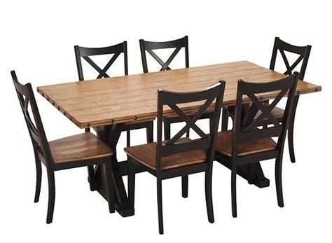 raymour and flanigan kitchen tables dermot 7 pc dining set dining sets raymour and
