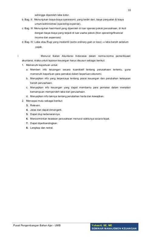 modul menyusun laporan keuangan untuk smk modul seminar manajemen keuangan