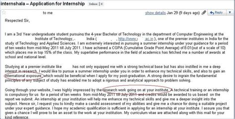 cover letter for internship india how not to apply for an internship 3 internshala