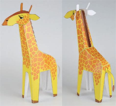 Papercraft Giraffe - papercraftsquare new paper craft animal paper model