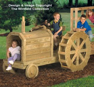 winfield collection farm tractor play structure plan