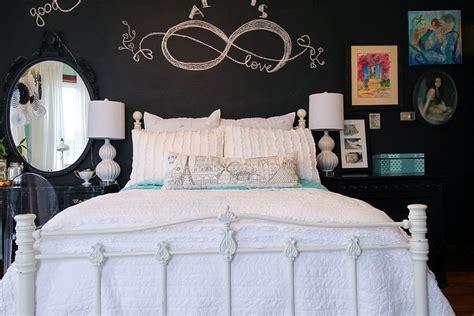 chalkboard wall bedroom 35 bedrooms that revel in the beauty of chalkboard paint
