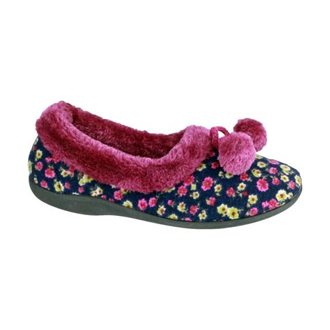 indoor shoes slippers mirak bayeux womens indoor house floral slippers