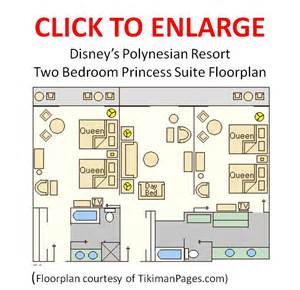 disneyland hotel 1 bedroom suite floor plan the most comfortable place to stay at walt disney world 1