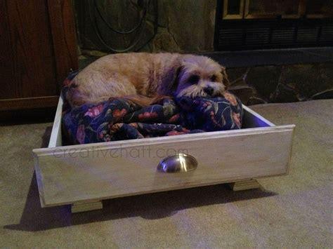 old dresser into dog bed turn old kitchen drawer into dog bed hometalk