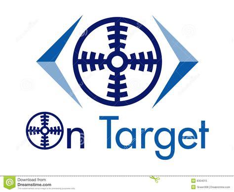 design elements by ultimate symbol on target vector logo design element cartoon vector