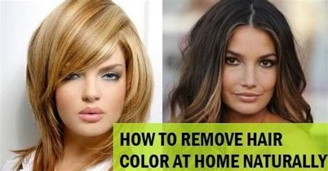 stripping hair color naturally how to a hair color how to remove hair color