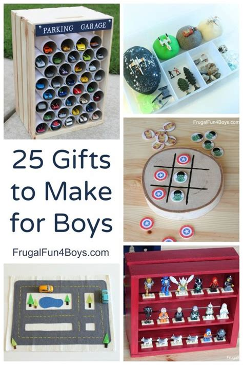 Handmade Birthday Gifts For Boys - 25 more gifts to make for boys gifts