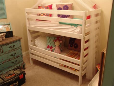 Bunk Bed With Crib On Bottom 1000 Images About Crib Size Loft Or Bunk Beds On Pinterest