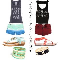 best friend polyvore