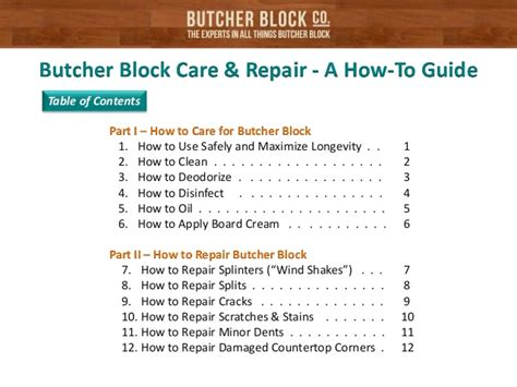 how to repair how to take care of granite countertops butcher block care repair a how to guide