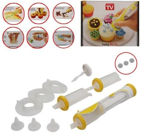 Plastik Penghias Kue by Frosting Deco Pen Alat Penghias Kue White With Yellow