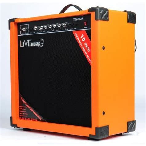 Live Tg 80w Electric Guitar Lifier Reverberation 2 Port 80w live tg 60r electric guitar lifier reverberation 3 port 60w black orange