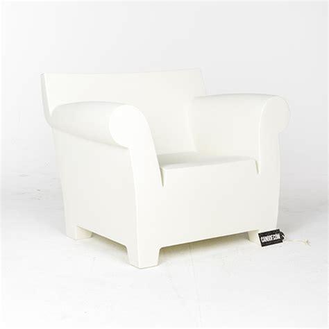 fauteuils wit kartell bubble club fauteuil wit materiaal kunststof
