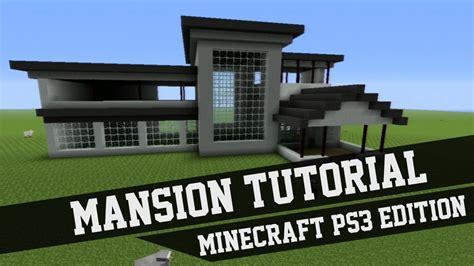 Minecraft House Design Ideas Xbox 360 Mansion Tutorial Minecraft 1 Xbox 360 Xbox One Ps3 Ps4