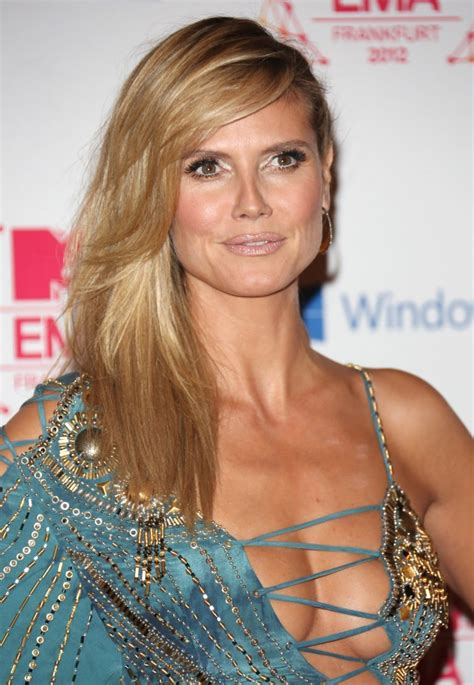 Hunter Douglas by Heidi Klum Picture 244 The Mtv Ema S 2012 Arrivals