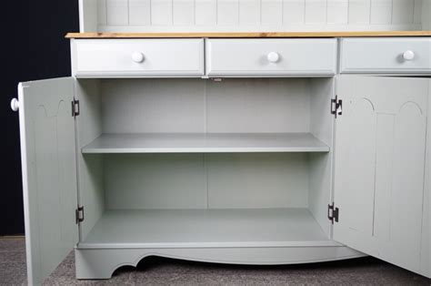 Country Style Dresser by Country Style Pine Dresser In Moonstone Painted Vintage