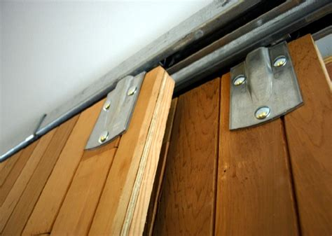 Diy Bypass Barn Door Hardware Diy Barn Doors Made From Reclaimed Lumber Bypass Barn Door Hardware Diy Barn Door And Doors
