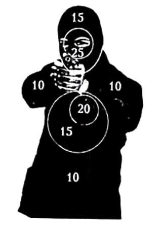 Silhouette shooting targets to print quotes