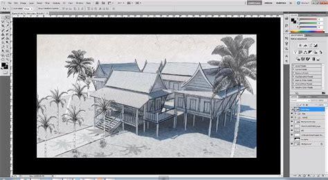 tutorial sketchup architecture making sketchup digital drawing sketch style sketchup