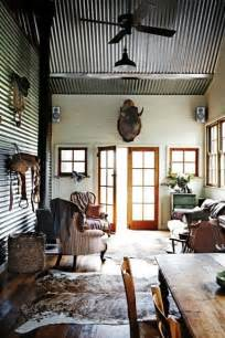 Design Ideas For Galvanized Ceiling Fan Make Your House Look Like A Cabin Inside Cabin Decor Western Decor