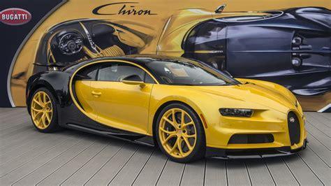 yellow bugatti chiron bugatti chiron consegnata la prima negli usa yellow motori