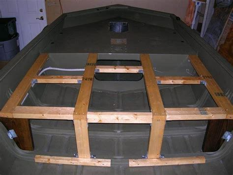 aluminum boat deck ideas jon boat deck ideas bing images dinghy pinterest