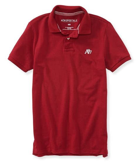 Polo M R T Riders Clothing aeropostale mens a87 rugby polo shirt mens
