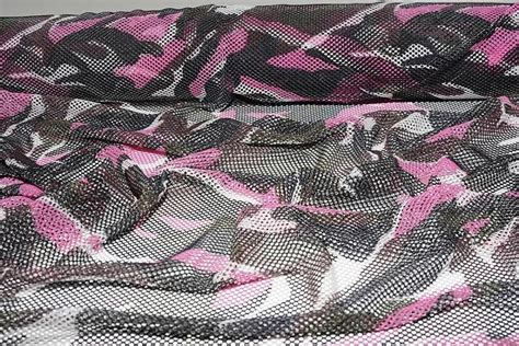 printable mesh fabric camouflage print mesh netting stretch fabric bty choice of