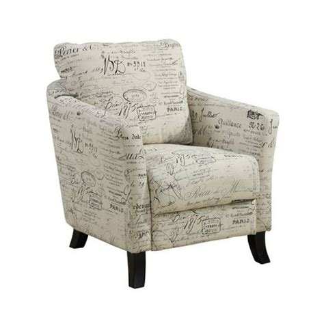 Vintage Accent Chair Monarch Specialties Vintage Fabric Accent Chair Walmart Ca
