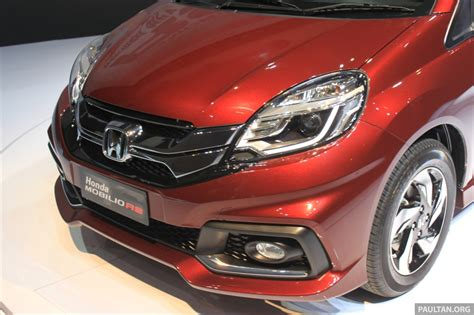 Spion Honda Mobilio Rs honda mobilio rs range topper launched in indonesia image 255009