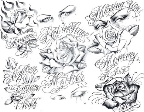 gangsta boog tattoo flash