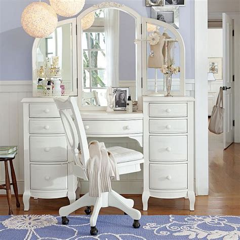 Girls Bedroom Vanity | teenage girls rooms inspiration 55 design ideas