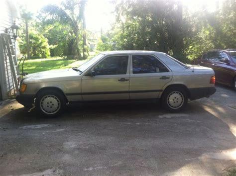 1987 mercedes 300e 1987 mercedes 300e 4 door 3 0l