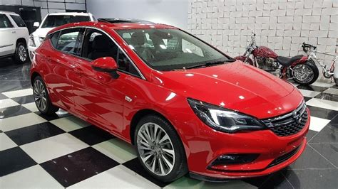 opel astra gcc  warranty  sale aed  red